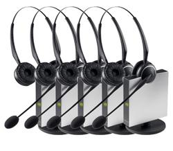 Jabra GN Netcom 5 Headset Bundles jabra gn9125 duo 5 pack