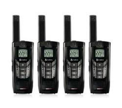 4 Radios  cobra cxr925 4 pk