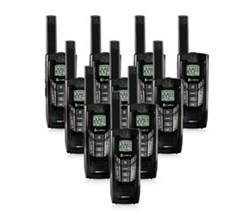 10 Radios  cobra cxr925 10 pk