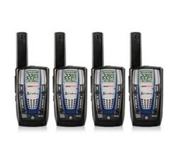 4 Radios  cobra cxr825 4 pk