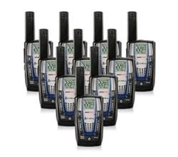 10 Radios  cobra cxr825 10 pk