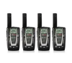 4 Radios  cobra cxr725