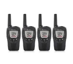 4 Radios  cobra cx312
