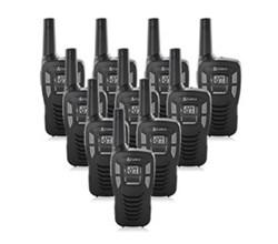 10 Radios  cobra cx112 10 pk