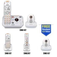 Vtech Careline Series vetch sn6187 1 sn6107 1 sn6307