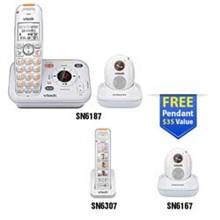 Vtech Careline Series vetch sn6187 1 sn6307