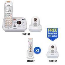 Vtech Careline Series vetch sn6187 2 sn6307
