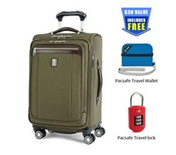 Travelpro Platinum Magna Carry On Luggage PM2 21 inch Exp Spinner Suiter
