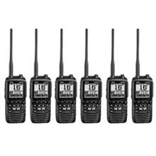 Standard Horizon 6 Pack VHF Radio Bundles standard horizon hx870