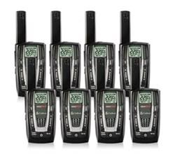 8 Radios  cobra cxr725