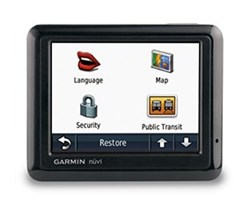 Garmin GPS with Lifetime Traffic Updates garmin nuvi 1260t