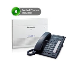 SOHO Business Phone Systems KX TA824PK 7730 (8Pack)