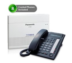 SOHO Business Phone Systems KX TA824PK 7730 8Pack