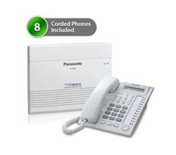 SOHO Business Phone Systems KX TA824PK 7730 (8Pack)