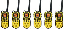 6 Radios motorola ms350r 6units
