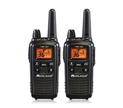 Midland Waterproof Two Way Radios Walkie Talkies midland lxt600vp3 banner