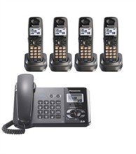 Panasonic 2 Line Corded Phones panasonic kx tg9391t 4