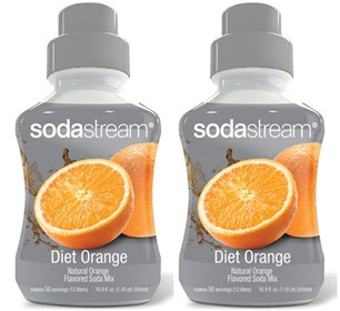sodastream diet orange sodamix