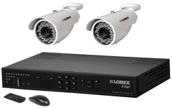 Lorex 2 Camera Systems  lorex lh328501 and 2 lbc6050