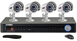 Lorex 16 Channel DVR Systems  lorex lh1161001
