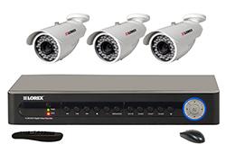 Lorex 3 Camera Systems  lorex lh118501