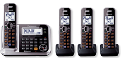 Panasonic DECT 6 Cordless Phones panasonic kx tg7874s r