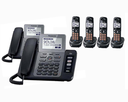 Panasonic 2 Line Cordless Phones panasonic kx tg9472b