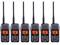 Standard Horizon 6 Pack VHF Radio Bundles standard horizon hx300