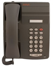 Digital Corded Phones avaya 6402 gray