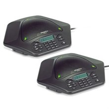 ClearOne MAX EX Corded Conference Phones clearone maxattach 2 phone system