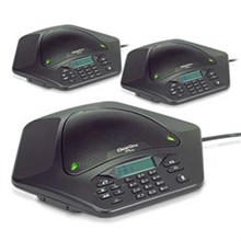 ClearOne MAX EX Corded Conference Phones clearone maxattach 3 phone system