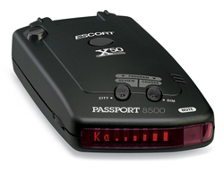 escort passport 8500 x50 red