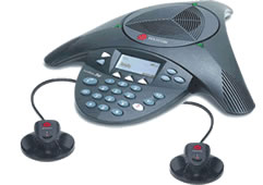 Polycom SoundStation 2W Wireless polycom 2200 07800 001 with ex mics