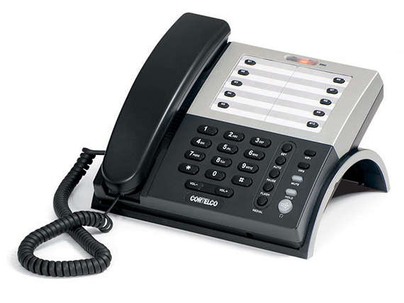 Cortelco Cortelco ITT-1203M 120300V0E27S Basic S-L Business Tel. w/s