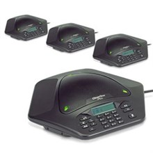 ClearOne MAX EX Corded Conference Phones clearone maxattach 4 phone system