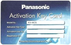 Panasonic IP SIP Phone Port Activation Keys panasonic bts kx ncs3716