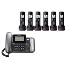 Panasonic 2 Line Corded Phones panasonic kx tg9586b