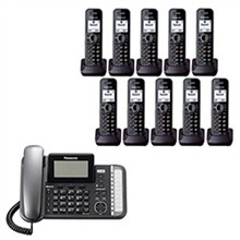 Panasonic 2 Line Corded Phones panasonic kx tg9582b kx tga950b