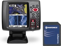 Humminbird GPS FishFinders humminbird 698ci hd si kvd combo
