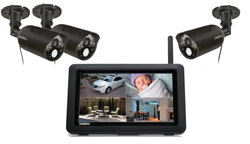 Uniden Touch Screen Video Surveillance Systems uniden udr744 udrc24