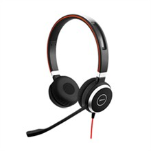 Stereo Corded Headsets jabra evolve 40 uc duo