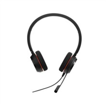Jabra GN Netcom Stereo Headsets (2 Ears)  jabra evolve 20 ms duo