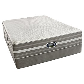 beautyrest recharge hybrid new life luxury firm twin size mattress set