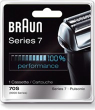 Braun Series 7 Pulsonic Mens Shavers braun 9000cp 70s foil cutter