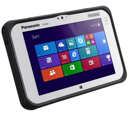 Panasonic Toughpad FZ-M1 Rugged Tablet