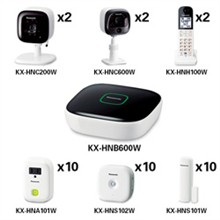 Panasonic Home Monitoring 4 Cameras panasonic kx hnb600w
