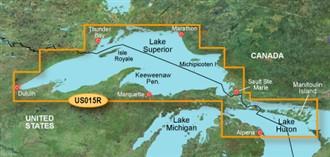 Bluechart g2 vision VUS015R Lake Superior
