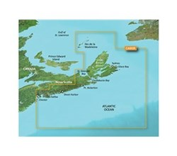 Garmin Canada BlueChart Water Maps Bluechart g2 vision VCA006R PEI to Chaleur Bay