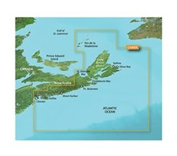 Garmin BlueChart g2 Vision HD Marine Cartography Bluechart g2 vision VCA005R Halifax to Cape Breton
