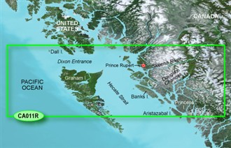 Bluechart g2 vision VCA011R Hecate Strait North